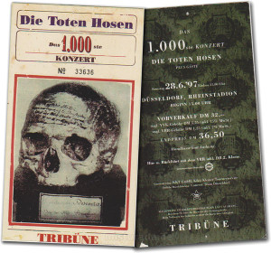 1000 koncert Die Toten Hosen