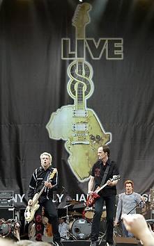 Die Toten Hosen Live8 - 2005 r.