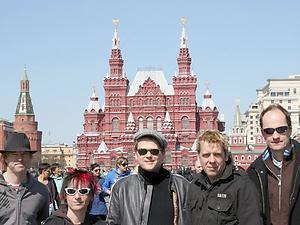 Die Toten Hosen w Moskwie