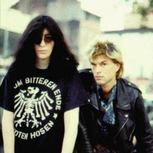 Joey Ramone i Campino