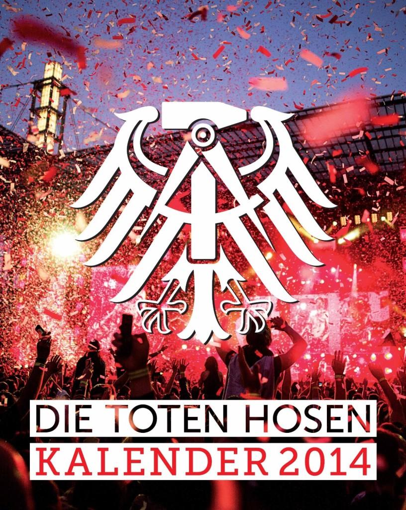Kalendarz Die Toten Hosen 2014